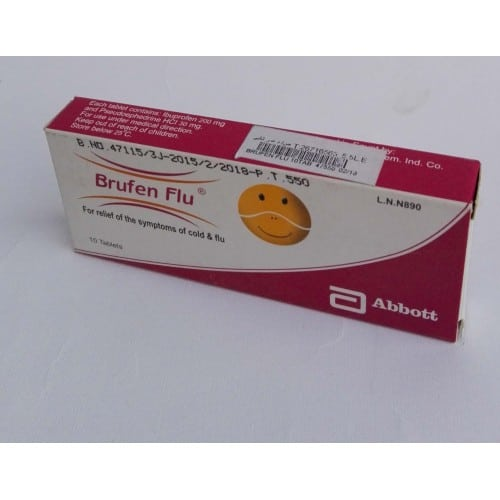 brufen flu tablets